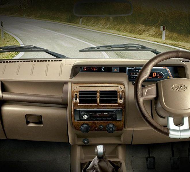 Automotive Mahindra Bolero Interior-1