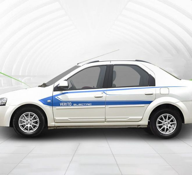 Automotive Mahindra E-Verito Exterior-2