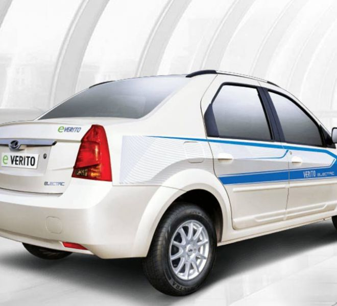 Automotive Mahindra E-Verito Exterior-4