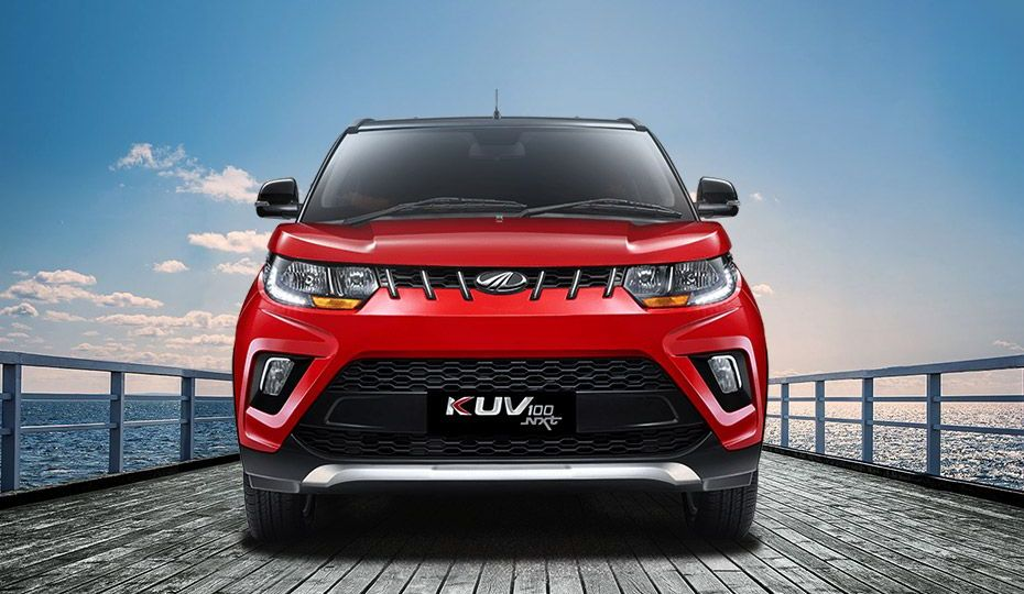 Automotive Mahindra KUV 100 NXT Exterior-1