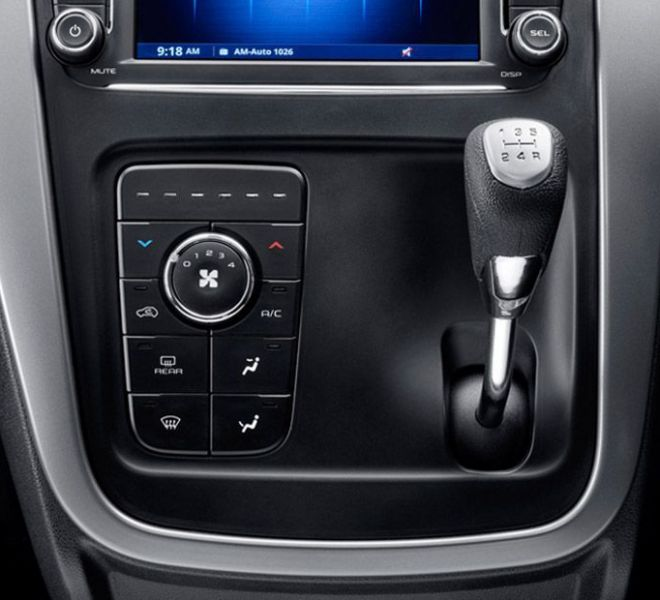 Automotive Mahindra KUV 100 NXT Interior-13