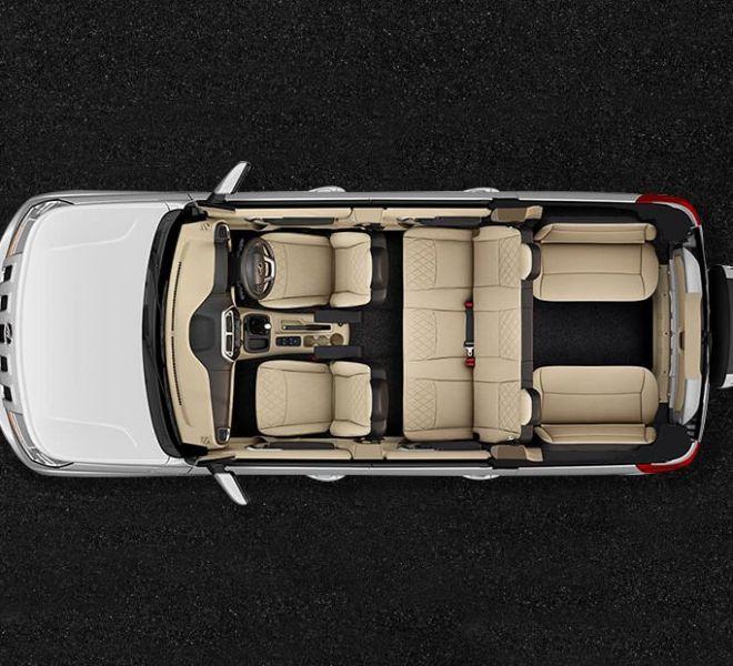 Automotive Mahindra TUV300 Plus Interior-1