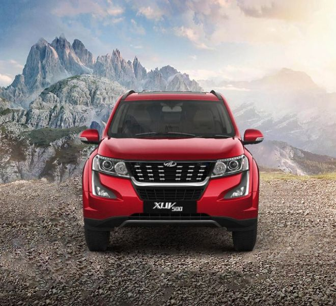 Automotive Mahindra XUV500 Exterior-1